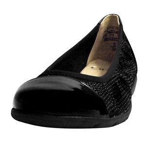 9 020 femmes G noires 22152 28 largeur 9 Ballerina pour Caprice wq8EOgX
