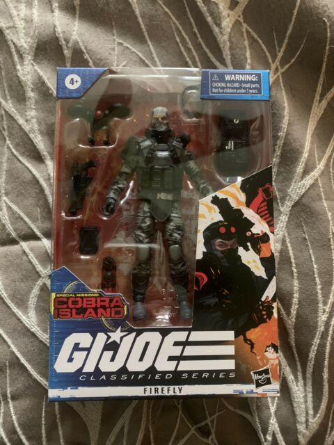 GI Joe Classified Series Special Missions Cobra Island Firefly *IN HAND*
