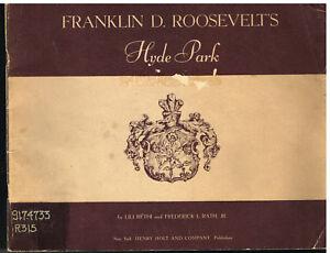 Franklin-D-Roosevelt-039-s-Hyde-Park-Lili-Rethi1947-Vintage-Ephemera