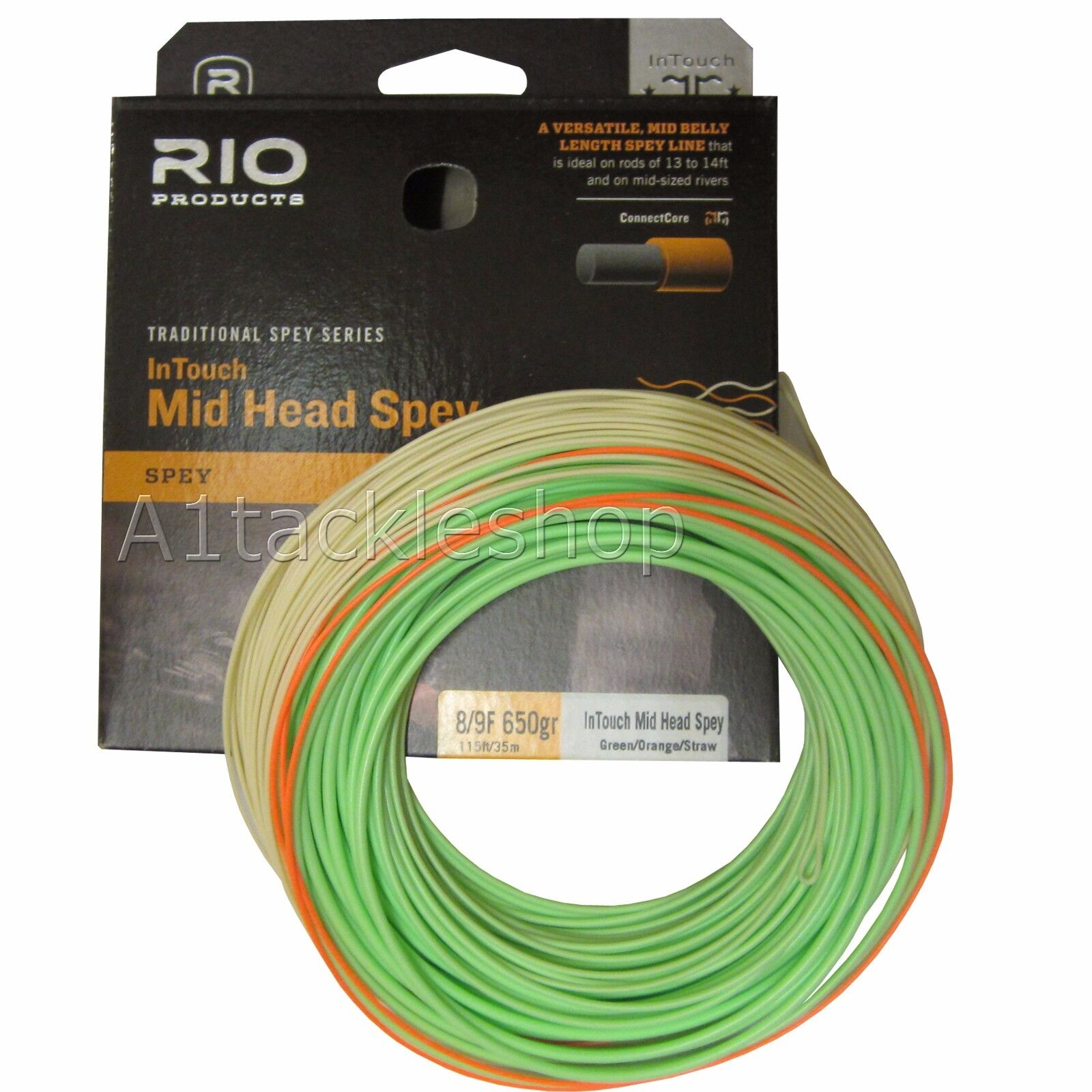 Rio In Touch Mid Head Spey Fly Line