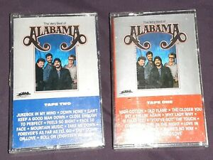 Alabama-The-Very-Best-Of-Cassette-2-X-Tapes