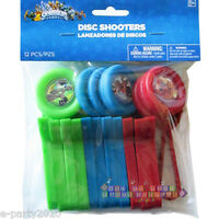 Skylanders Disc Shooters (12) Birthday Party Supplies Plastic Favors Toys