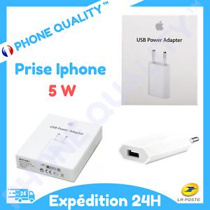 CHARGEUR PRISE SECTEUR USB 5W IPHONE IPAD IPOD | eBay