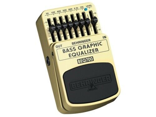 BEHRINGER BASS GRAPHIC EQUALIZER BEQ700 [Effects Pedal]