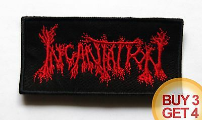 INCANTATION RD PATCH,BUY3 GET4,IMMOLATION,AUTOPSY,NUNSLAUGHTER,DEAD CONGREGATION