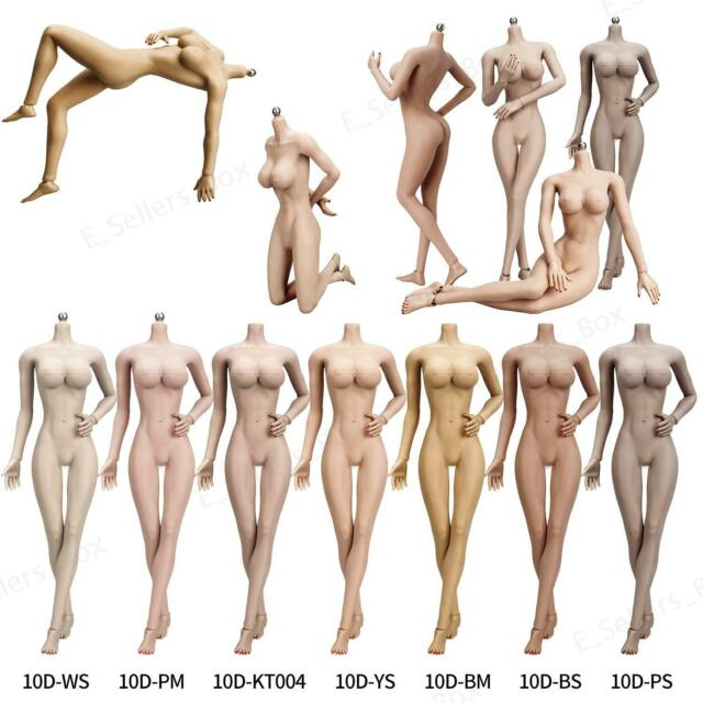 KIMI Heads 1:6 TBLeague PHICEN Skeleton Seamless Toy Suntan Female Figure Body