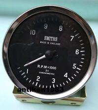 100 Mm Smiths Replica Tachometer Anti Clockwise Mechanical M18x15 Thread