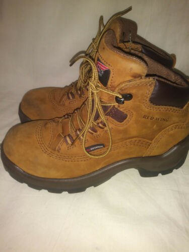 🥾Red Wing Shoes Womens Steel Toe Boots Chestnut B