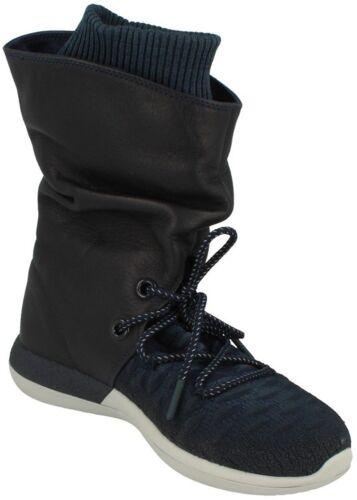 Damenstiefel Flyknit Nike Hi 400 navy Blau Roshe Two 861708 qwxap7A