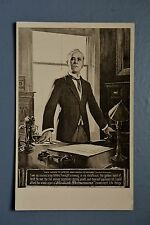 R&L Postcard: Eagle Star Insurance Advert, Gentleman in Office Suited Phone