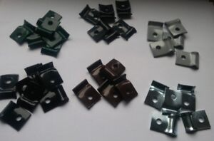 Wire-Mesh-Panels-Tension-Wire-Clips-with-Self-Drilling-Screws-Fencing