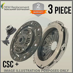 Pour-Opel-Vivaro-J7-Bus-2-0-Cdti-06-14-3-Pieces-Csc-Kit-D-039-em-Brayage