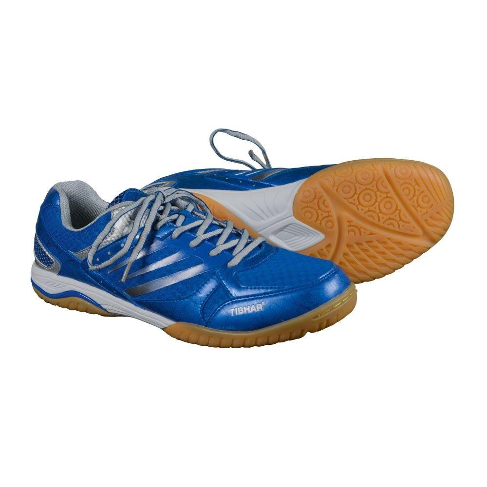 TIBHAR TITANIO Ultra Forte - Blu tischtennisschuh tischtennisschuh tischtennisschuh Scarpe indoor badminton T 3f88ee