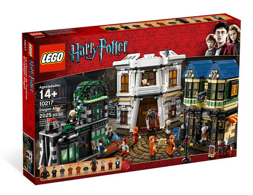 LEGO 10217 Harry krukmakare Diagons Alley - SEALED and NEW