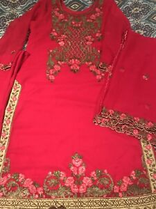 Shalwar Wedding Ladies Party Kameez Dress Asian qCPw4Rd