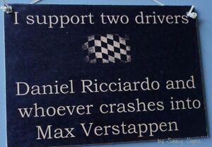 Daniel-Ricciardo-Wrecks-Max-Verstappen-Formula-One-1-Grand-Prix-GP-Red-Bull-Sign