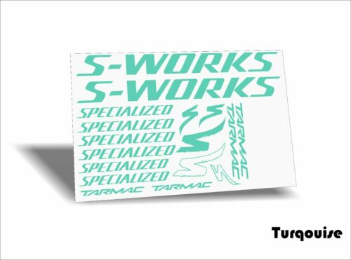 12 options-colors on your choice S Works SL6 Tarmac Specialized decals stickers