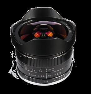 mount ✮ 7.5//2.8 ✮ 7Artisans 7.5mm f//2.8 FishEye manual lens for Fuji FX XF, XC