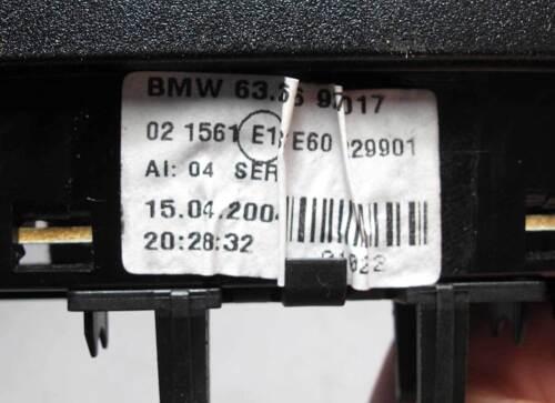 BMW E60 5-Series Sedan Third 3rd Top Brake Stop Light Black 2004-2010 USED OEM
