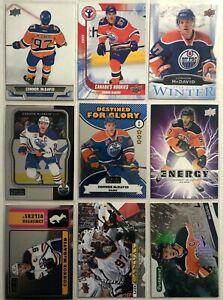 Connor-Mcdavid-9-Card-Lot-Upper-Pure-Energy-Edmonton-Oilers-Canada-039-s-Rookies