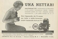 Z1099 Nettar 6 x 9 ZEISS IKON - Pubblicità d'epoca - 1933 Old advertising