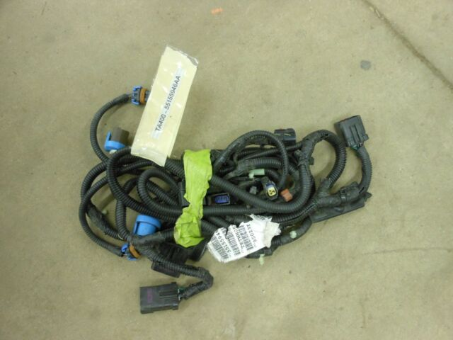 chrysler oem jeep headlight wiring harness 55155946aa image 3 ebay rh ebay com 2003 jeep liberty radio wiring harness 2003 jeep liberty radio wiring harness