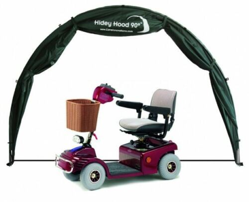 Hidey-Hood-Scooter-amp-Wheelchair-Outdoor-Storage-Rain-Protection-Cover-Garage