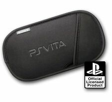 Sony Official PS Vita Carry Slip Case PSV Pouch + 3 Screen Films Protectors