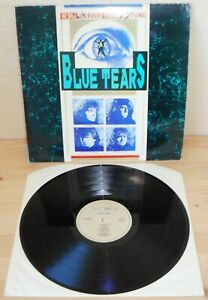 LP-BLUE-TEARS-s-t-Mca-90-UK-1st-ps-hard-rock-AOR-heavy-metal-RARE-NM