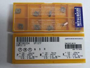 10-pcs-MITSUBISHI-Carbide-inserts-CCMT-21-51-CCMT-060204-Grade-VP15TF