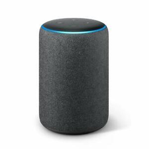 Amazon Eco Plus 2nd generación-built-in casa Inteligente Hub Alexa-Tela Carbón