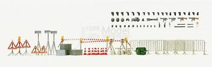 PREISER-31018-Accessori-di-polizia-in-kit-come-in-foto-Scala-H0-1-87