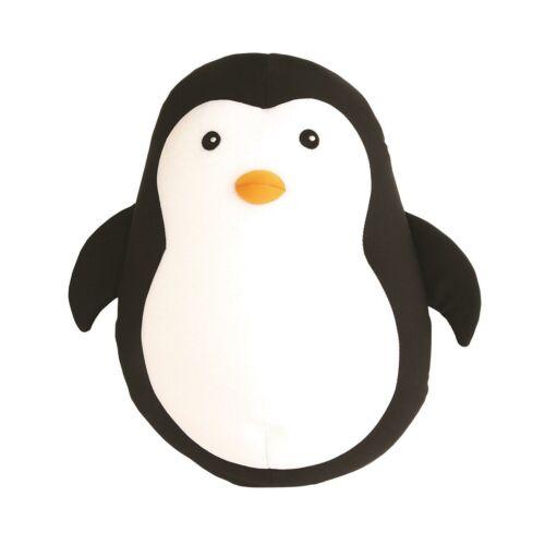 Kikkerland Zip /& Flip Penguin Oreiller Doux en Peluche microbilles Voyage Coussin Cadeau