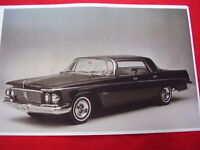 1963 Chrysler Imperial 4dr Hardtop 11 X 17 Photo Picture