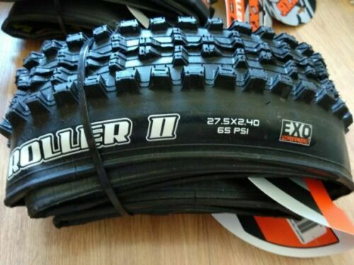 """NEW Maxxis High Roller II Tire EXO 27.5/"""" x 2.40 60a compound 27.5x2.4 Folding"""