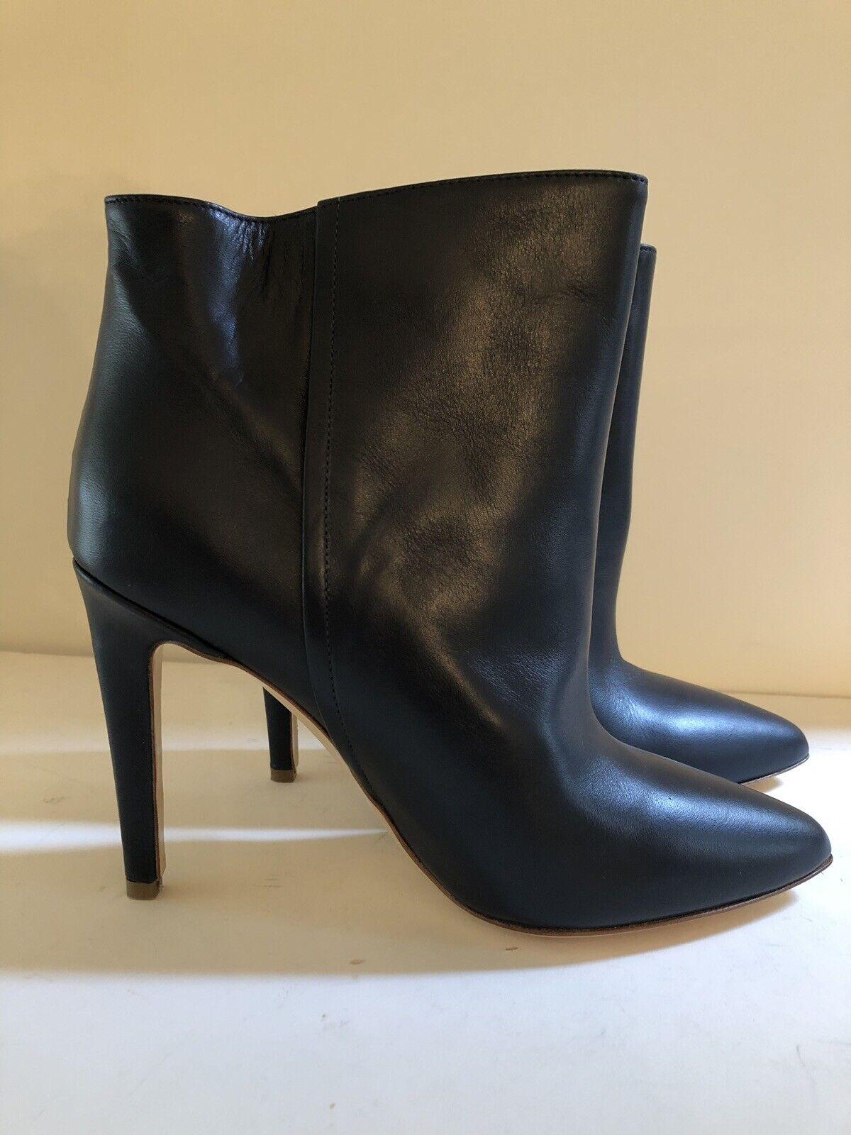 grande vendita NEW Donna by Common Projects Dark Navy High Heel Heel Heel Ankle avvioie Sz 39 US 8.5   Spedizione gratuita per tutti gli ordini