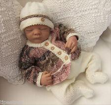 Baby Knitting Pattern DK  TO KNIT Baby or Reborn Dolls Cardigan Hat Leggings