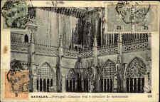 Batalha Portugal AK 1909 Kloster Kreuzgang Claustro Real Kirche (gute Frankatur)