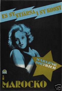 24x36 Morocco Vintage Movie Poster