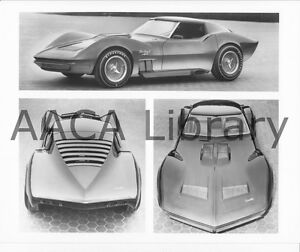 1967-Corvette-XP-Mako-Shark-II-Concept-Car-Factory-Photo-Ref-35983