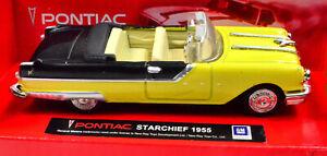 Pontiac-Starchief-Anno-1955-Giallo-Scala-1-43-di-newray