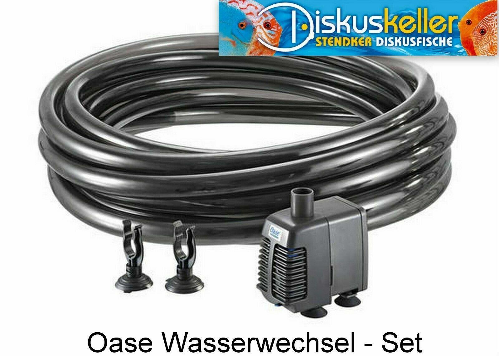 Oase Aqua In - Out Set 800 Wasserwechsel System System System mit Pumpe - Aquarium Wasser - 2d0a42