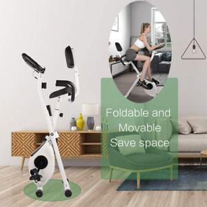 Home Exercise Bike Folding X-Bike Adjustable Fitness Cardio Machine WorkoutCycle
