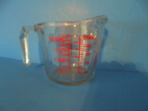FREE SHIPPING! Anchor Hocking Company Clear Glass Graduated Measuring Cup, 2-cup