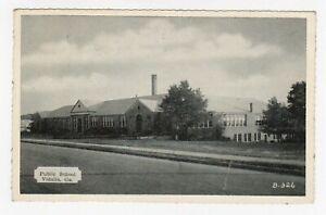 Vintage-Old-Postcard-Vidalia-Georgia-GA-Public-School-Building
