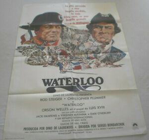 Spanien,Filmplakat,WATTERLOO,ORSEN WELLES,ROD STEIGER,CHRISTOPHER PLUMMER#39