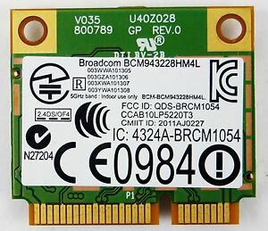 BROADCOM BCM943228HM4L WINDOWS 7 64 DRIVER