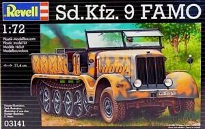 Revell-03141-Sd-Kfz-9-FAMO-1-72-Heavy-Recovery-Vehicle-WWII-German-Model-Kit
