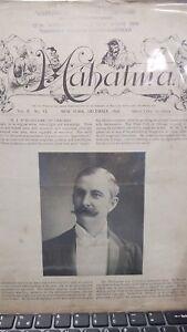 Vintage-MAHATMA-Paper-Devoted-to-Magicians-H-J-BURLINGAME-ISSUE-1898-Vol-II