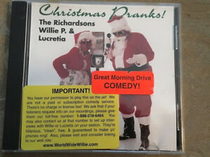 Christmas Pranks.Details About Christmas Pranks The Richardsons Willie P Lucretia Promo Comedy Cd